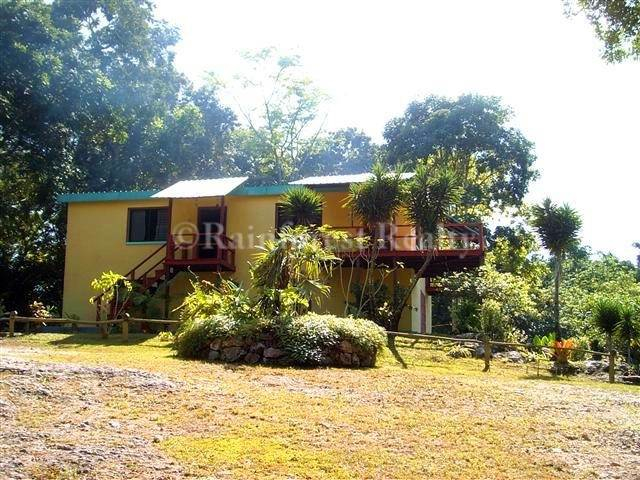 Belize home for sale georgeville on 50 acres for Secluded mountain homes for sale