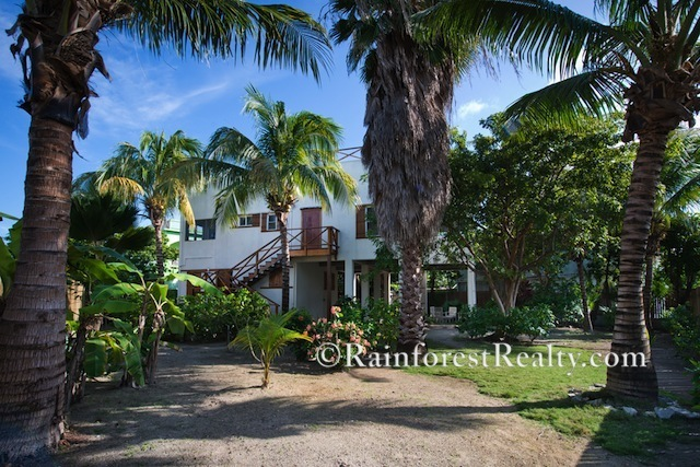 Ambergris Caye Island Home Fully Fenced Lot