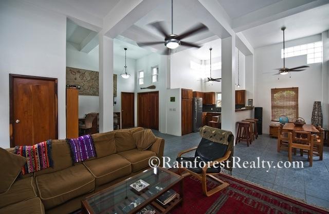 Ambergris Caye Island Home Open Floor Plan