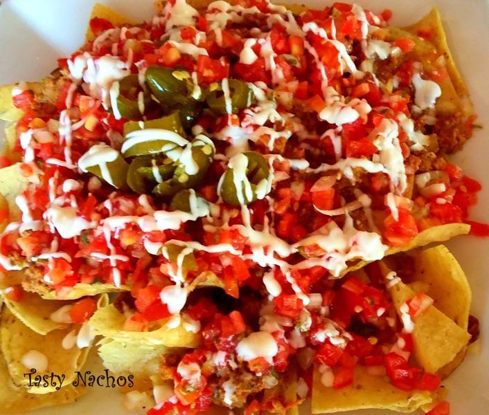 Whats for Dinner in Belize Nachos