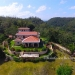 Living in Luxury on this Belize Spanish Style Estate_Aerial View of Home North Side