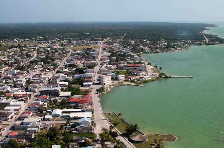 Corozal Town in Belize Central America