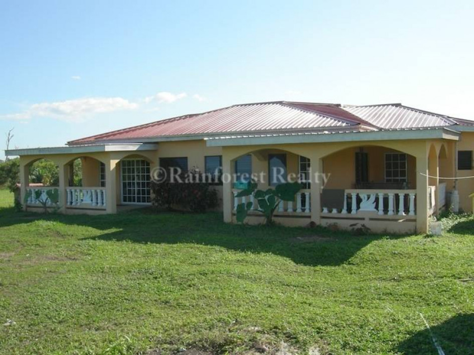 Belize home for sale with guest house on 5 acres for Homes for sale with guest house