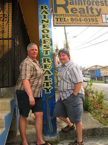 Belize Rainforest Realty Testimonial : Carmel and Gerri