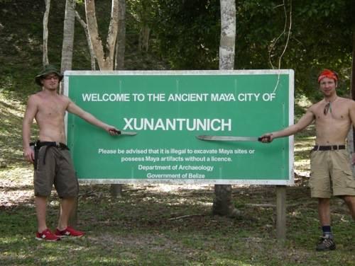 Belize Xunantunich Ruins