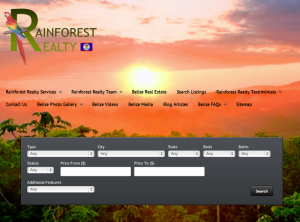 Rainforest Realty Home Page Tutorial