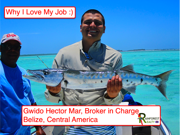 Belize Real Estate Gwido Hector Mar Broker in Charge of Rainforest Realty