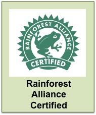Belize Rainforest Alliance Certified