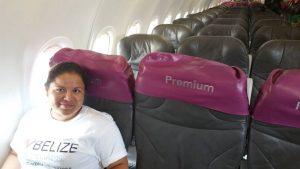 Keller Williams Mexico Family Reunion Glendy first Plane Ride