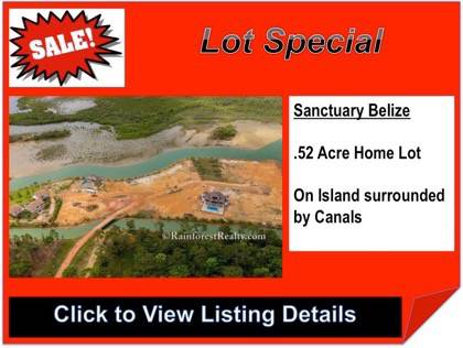 Home Lot in Sanctuary Belize