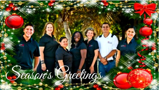Christmas in Belize Rainforest Realty Christmas Card