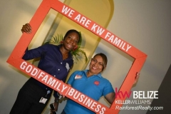 KW BELIZE Grand Opening - KW Family Frame
