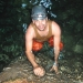 Belize ATM Cave hiking through the cave