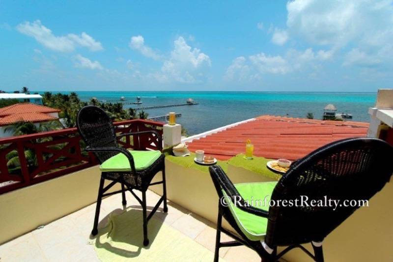 Oceanfront Penthouse Condo Luxury Living in Belize Roof top views