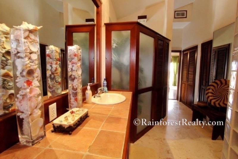 Oceanfront Penthouse Condo Luxury Living in Belize luxury bathroom