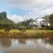 Belize Coastal Road Home lakes to house
