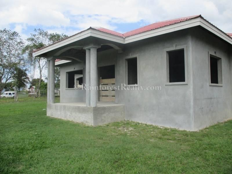 SOLD U2013 Belize Concrete Home For Sale On Half Acre Of Land