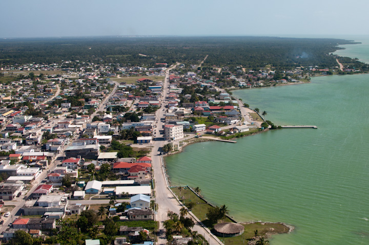 Corozal Town in Belize Central America