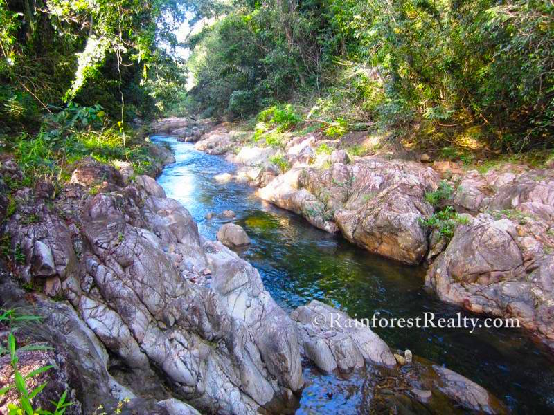 Hummingbird Highway 20.8 Acres with Home and Freshwater Creek17