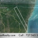 Belize 12000 Acres for Sale Across from Ambergris Caye Island Map