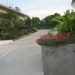 Driveway to upper deck and parking
