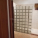 Walk in Glass Block Shower off Living Area