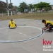 Keller Williams Belize BB Court Painting with our Mormon Friends 5