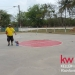 Keller Williams Belize BB Court Painting with our Mormon Friends 7