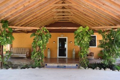 New Carport Roof Ocean Front Home Corozal