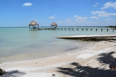 Belize Beach Ocean Front Home for Sale Corozal Town