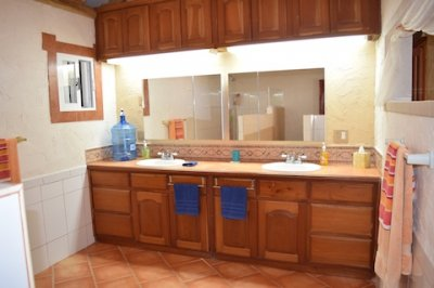 Extra Large Master Bathroom Belize Ocean Front Home for Sale Corozal Town