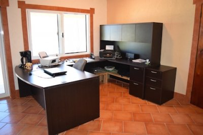 Office Belize Ocean Front Home for Sale Corozal Town