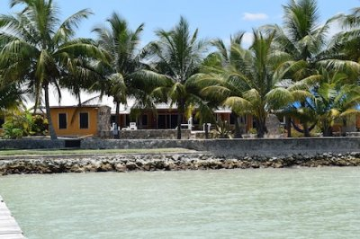 View from Ocean Belize Ocean Front Home for Sale Corozal Town