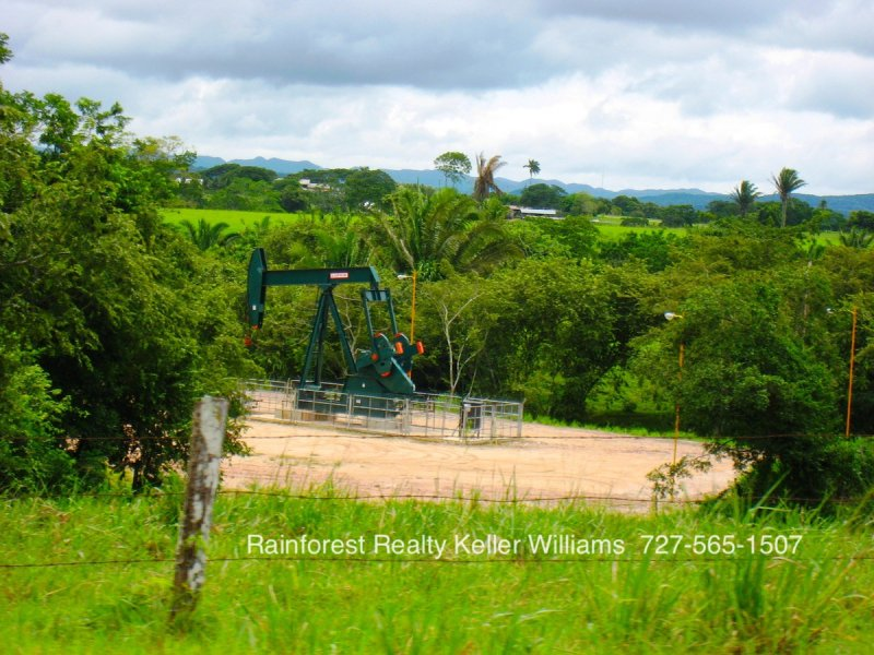 Oil Field in Spanish Lookout Belize