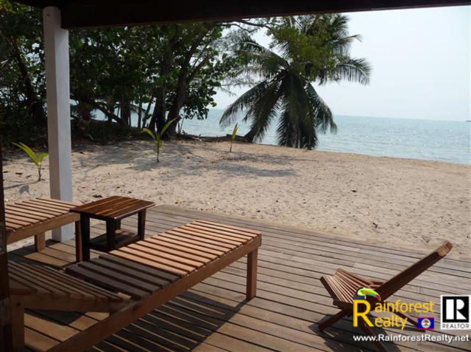 Belize Oceanfront Home for Sale in Maya Beach