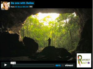 "Let Rainforest Realty guide you in ""Becoming One with Belize"""