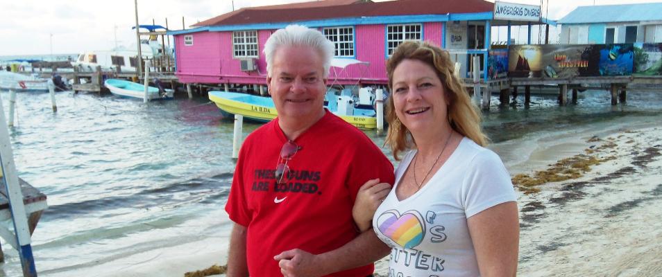Touring Belize on Ambergris Caye