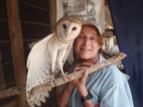 Belize Zoo Sharon Matola with Little Guy