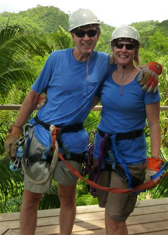 Belize Rainforest Realty Testimonial : Vince and Margay