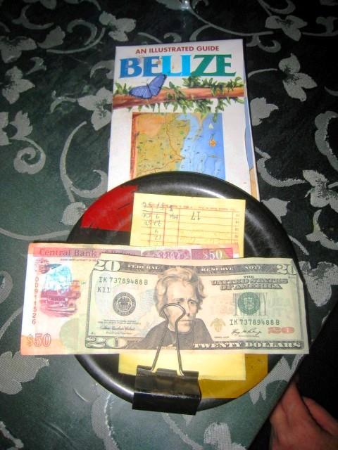 Ambergris Caye Island Belize Money
