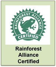 Belize Rainforest Alliance Certified