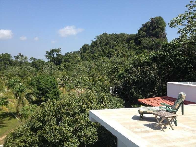 Belize Coastal Road Home Deck Views