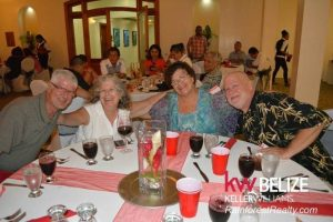 David Mark Jackie Marilyn Keller Williams Belize Opening Event Dinner