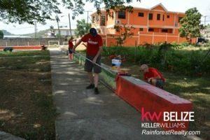 KW Belize RED DAY Team